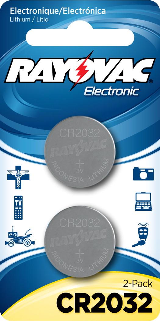 3v Lithium Coin Cell Battery,  KECR2032-2